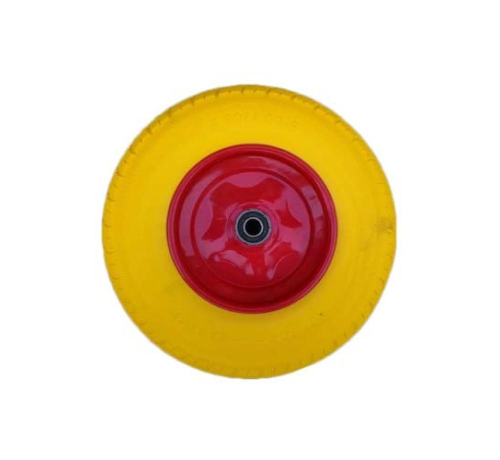 Колесо 4.00-8 полиуретановое для тачки