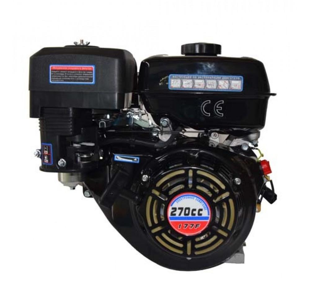 Двигатель-Lifan 177F (вал 25мм, 80x80) 9лс
