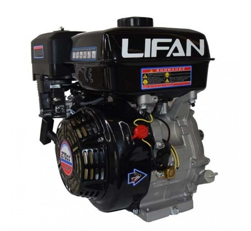 Двигатель-Lifan 177F (вал 25мм, 90x90) 9лс