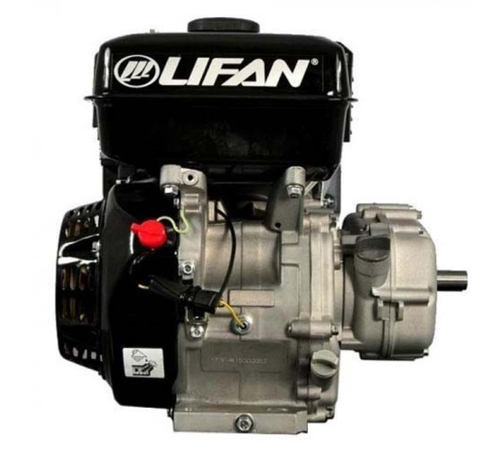 Двигатель-Lifan 177F-R (сцепление и редуктор 2:1) 9лс