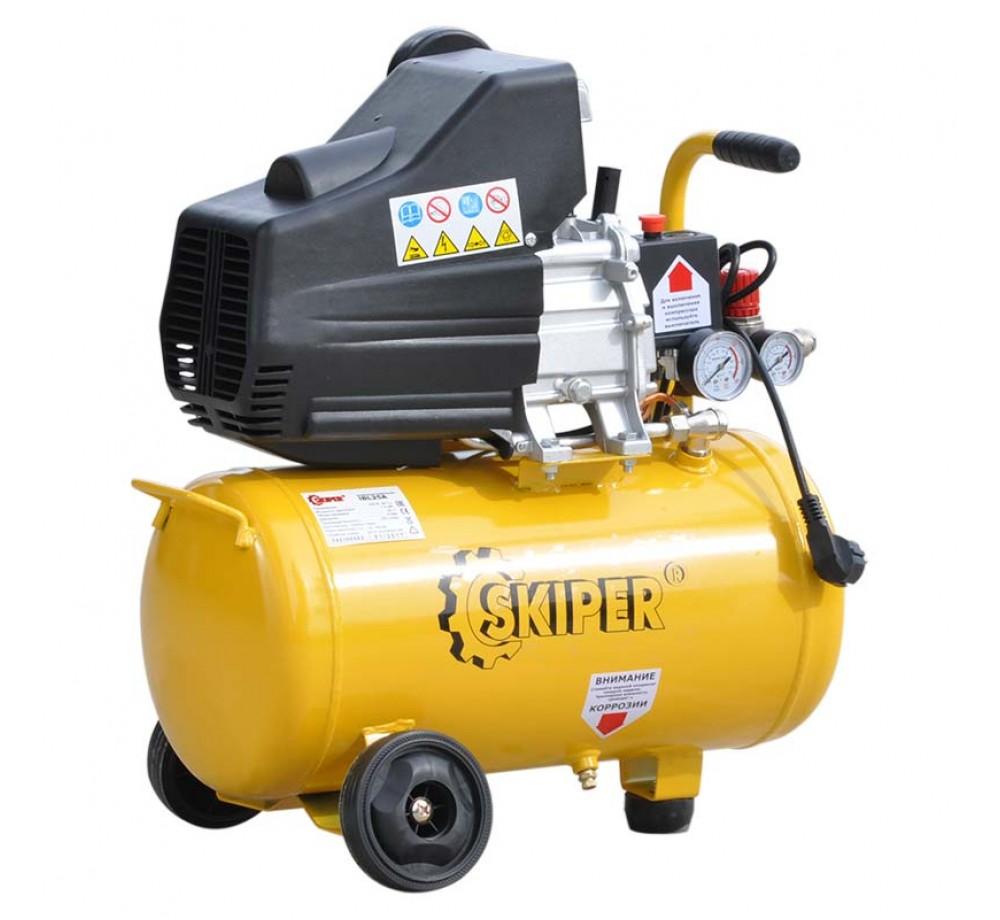 Компрессор Skiper IBL25А (1,5 кВт, 220В, 25 л)