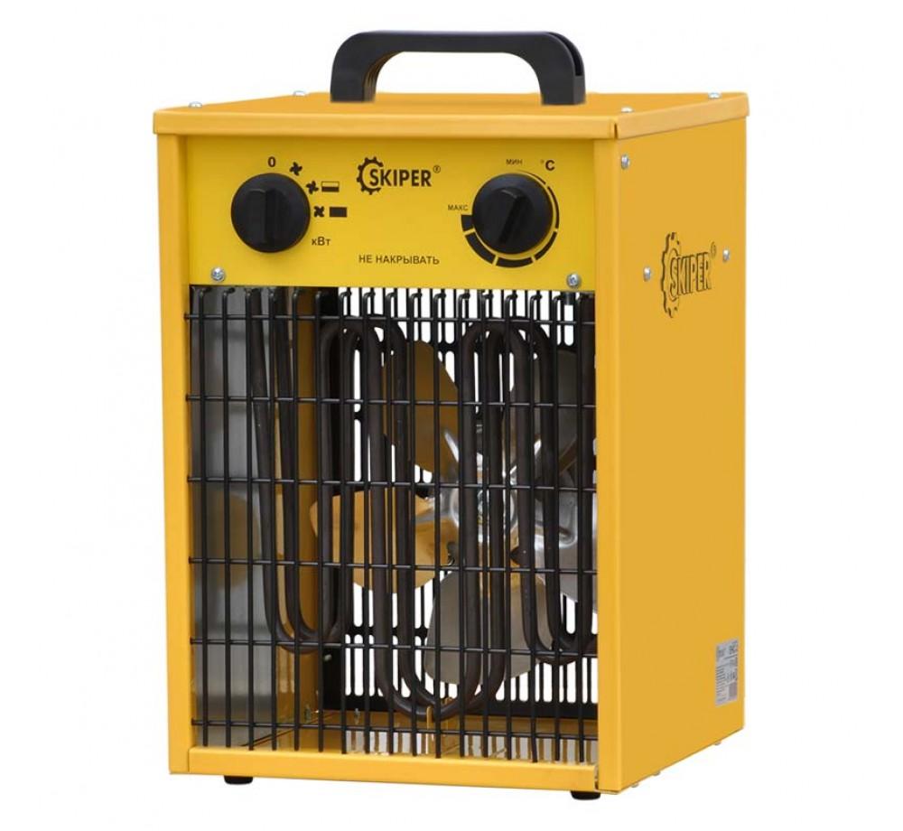 Нагреватель воздуха электр. SKIPER EHC-3 (кубик, 3 кВт, 220 В, термостат)