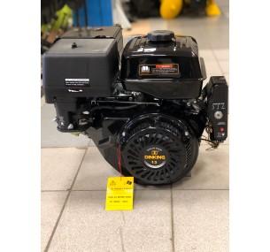 Двигатель бензиновый DK390F (S shaft) ручной стартер стальной распредвал и коленчатый вал с датчиком