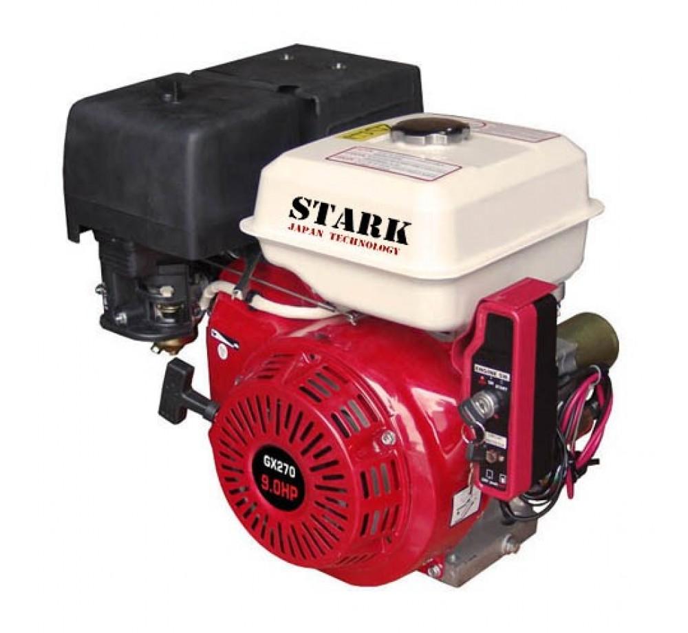 Двигатель STARK GX270E S(шлицевой вал 25мм) 9лс + электростартер
