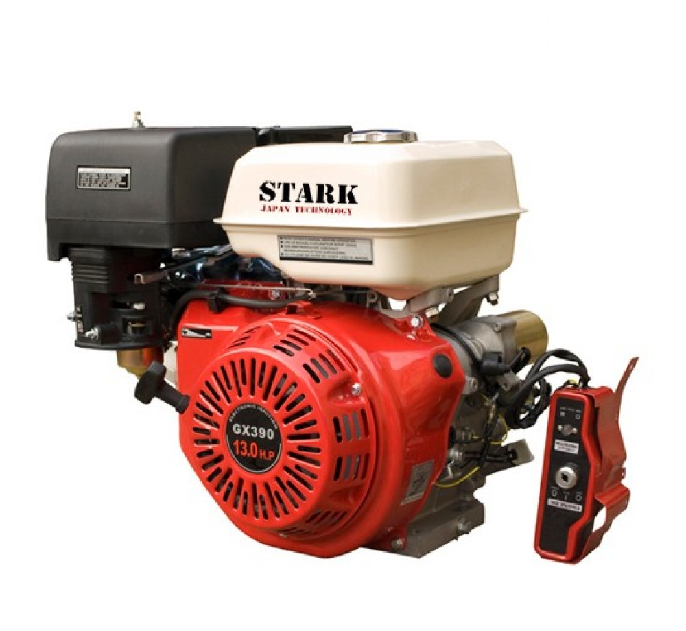 Двигатель STARK GX390E S(шлицевой вал 25мм) 13лс + электростартер