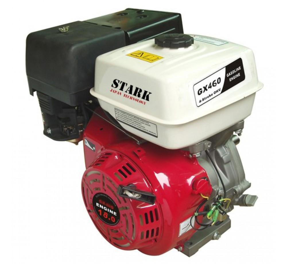 Двигатель STARK GX460 S(шлицевой вал 25мм) 18 лс