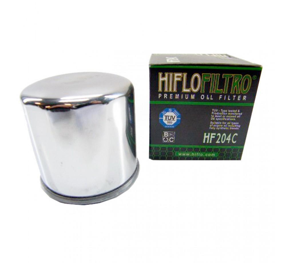 HF204C(Хром) Фильтр масляный HIFLO