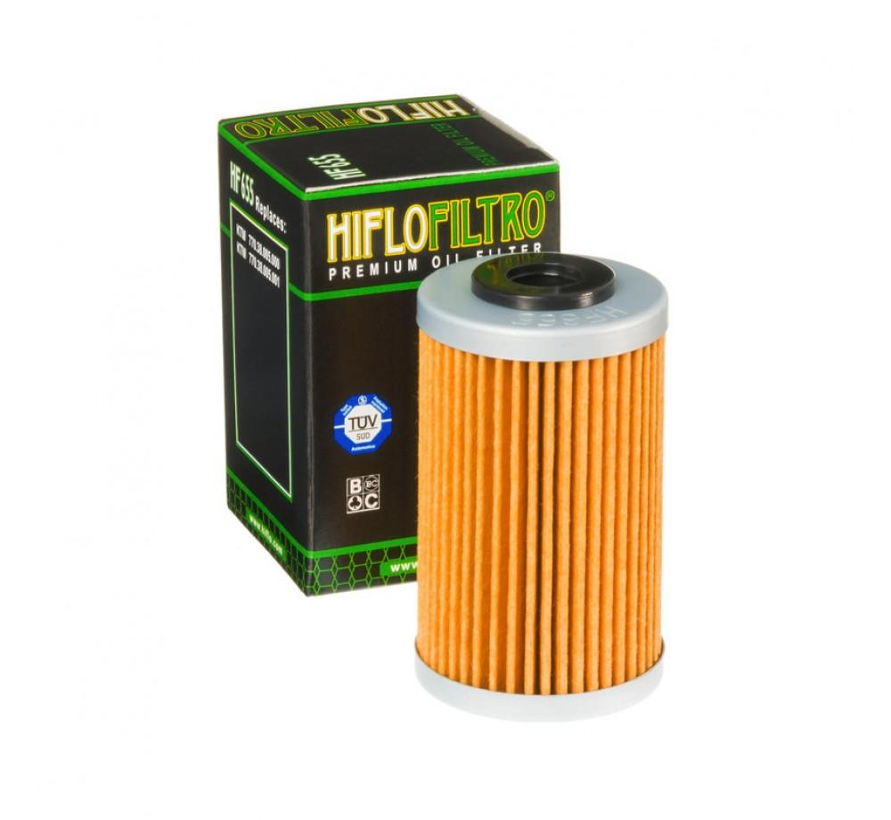 HF655 Фильтр масляный HIFLO