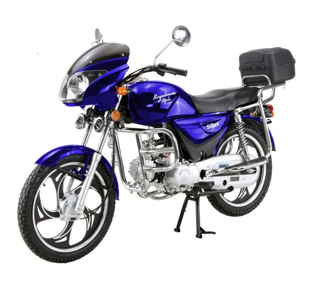 Мотоцикл Regulmoto Alpha 110 Restyling