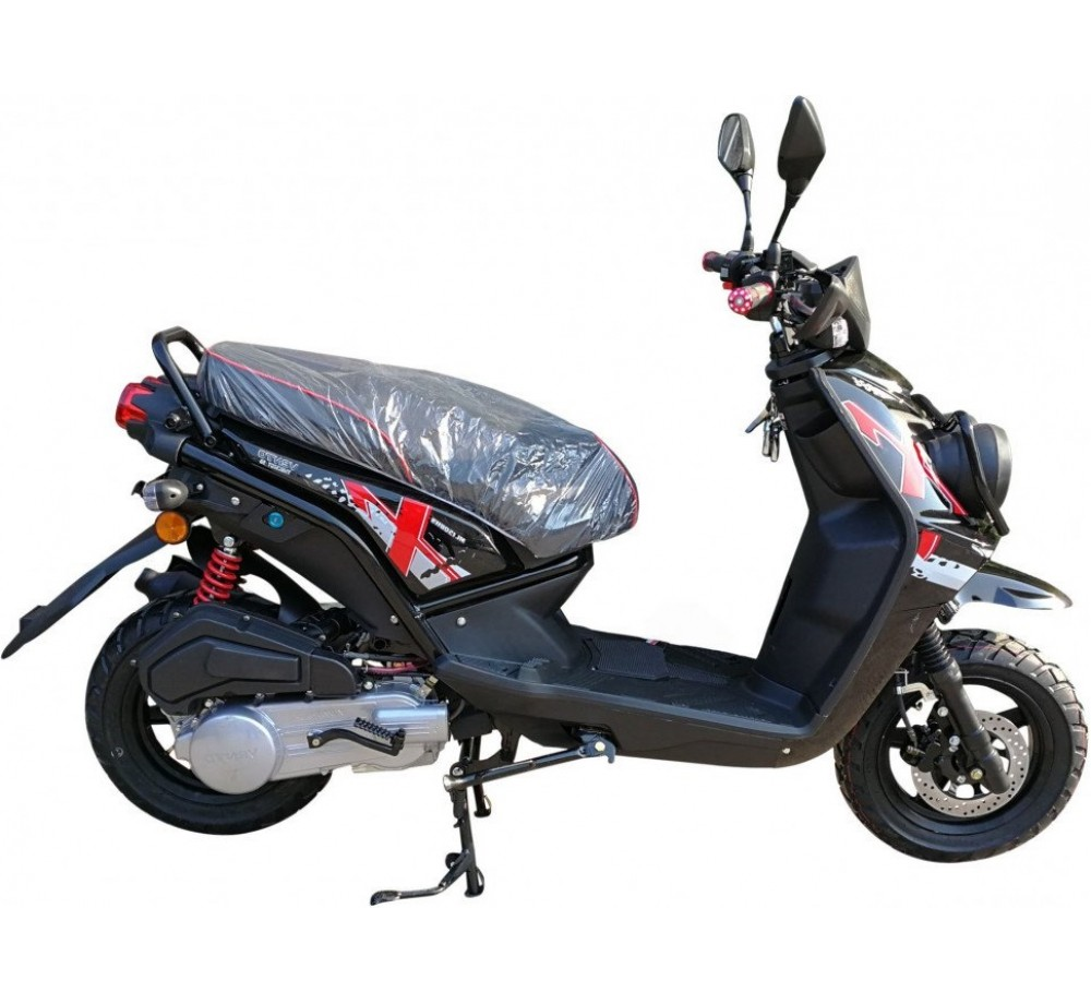 Скутер VENTO SMART-II 49cc (150) сигнализация, багажник под кофр