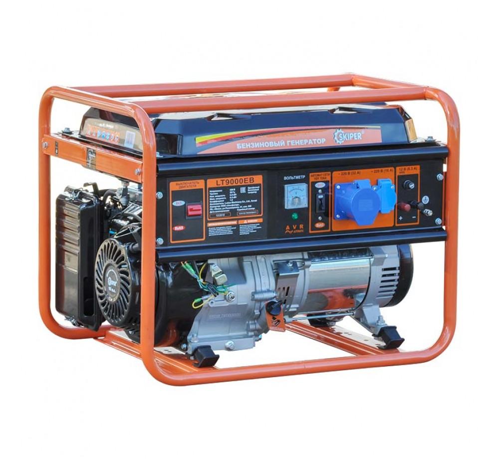 Бензогенератор (электростанция) Skiper LT9000 ЕВ