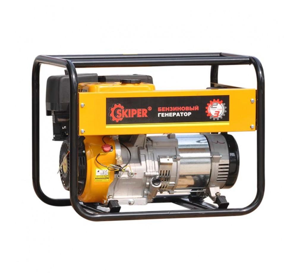 Бензогенератор (электростанция) Skiper LT6000EB-1