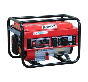 Бензогенератор (электростанция) Brado LT 4500B