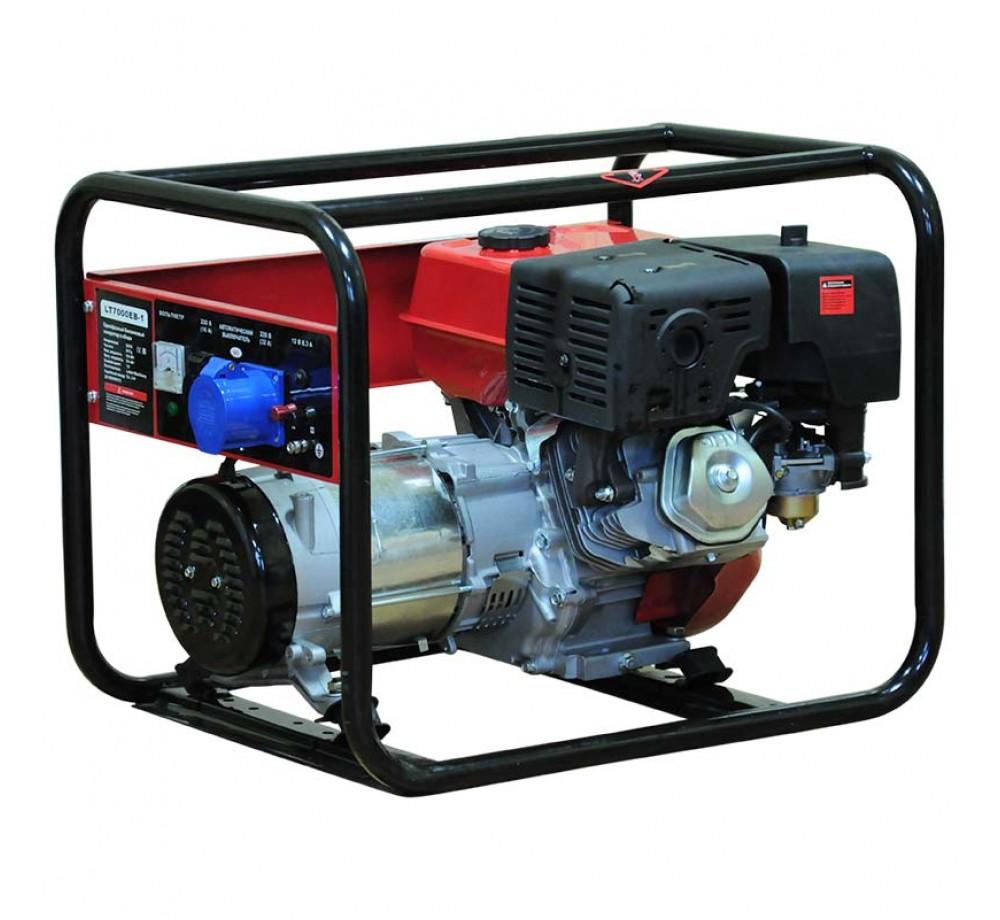 Бензогенератор (электростанция) Brado LT7000EB-1