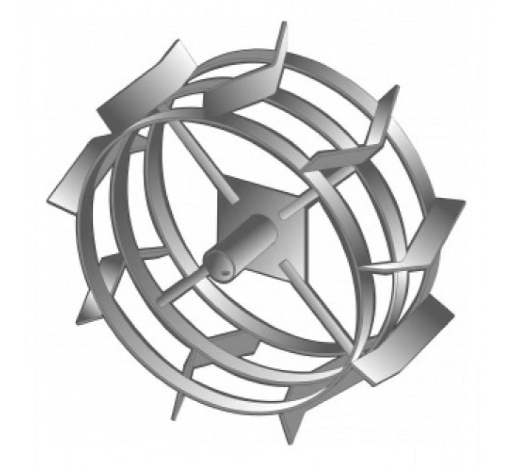 Грунтозацепы 480x195 посад. круг 34мм