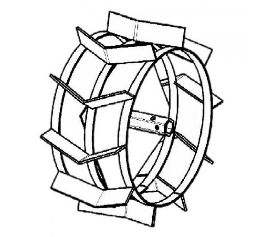 Грунтозацепы 430x200 посад. 32x32мм