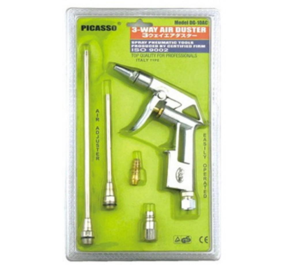 Пистолет продувочный DG-10-AC (набор) для компрессора