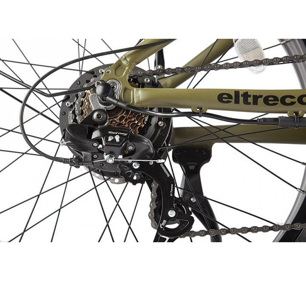 Велогибрид VOLTECO BIGCAT DUAL NEW