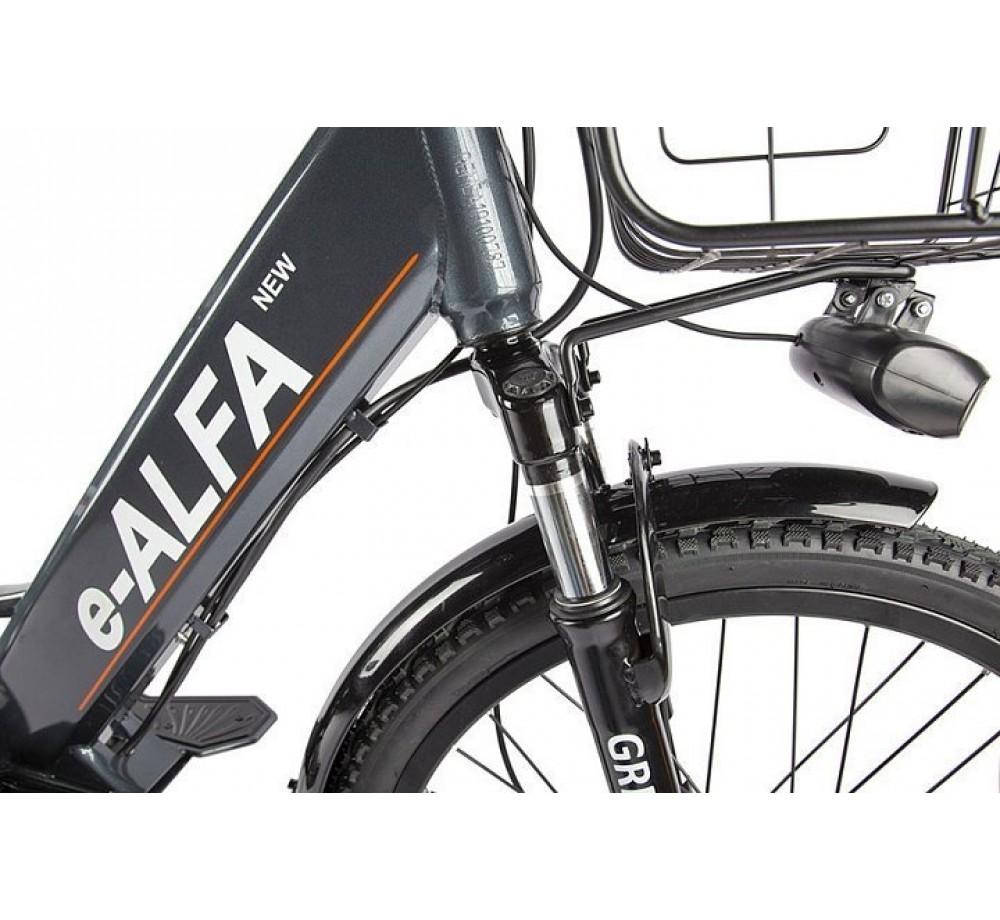 Велогибрид GREEN CITY e-ALFA new